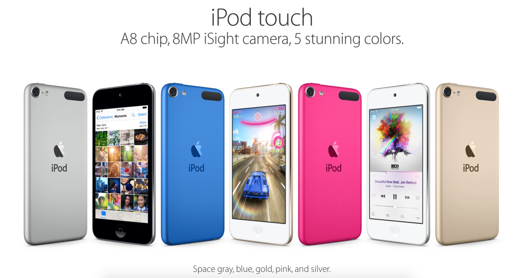 ipod with a8