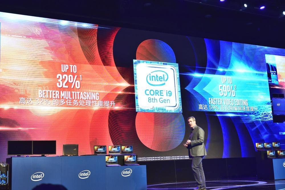 intel 第 8 代 6 核心處理器
